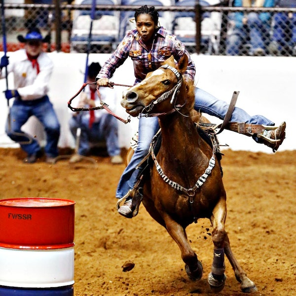 Cowboys Of Color Rodeo Mesquite Arena In Mesquite